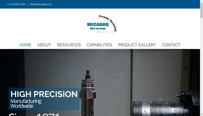Site internet de Mecadaq Group