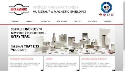 Site internet de Meca Magnetic