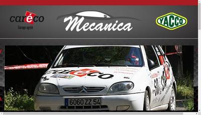 Site internet de Mecanica