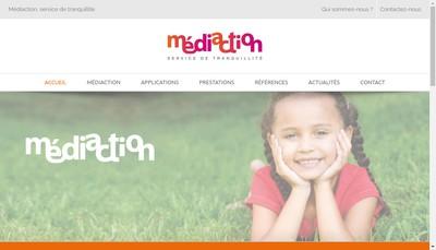 Site internet de Mediaction