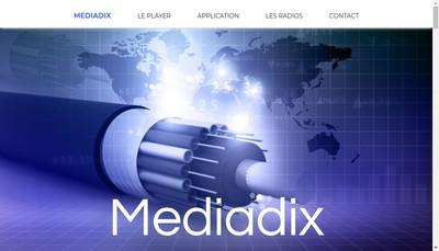Site internet de Mediadix