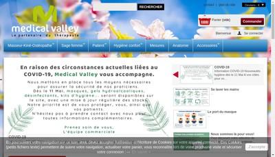 Site internet de Medical Valley