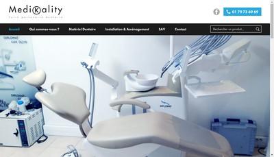 Site internet de Medikality