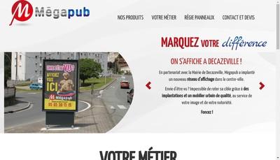 Site internet de Megapub