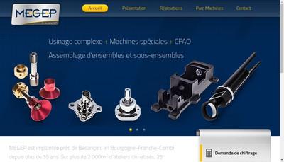 Site internet de Megep Industrie