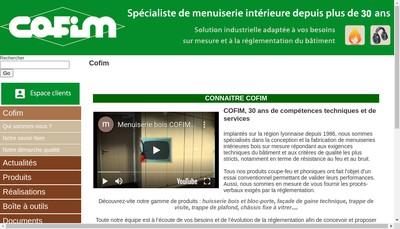 Site internet de Cofim