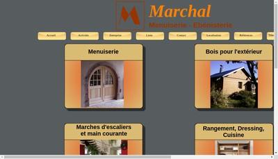 Site internet de Menuiserie Ebenisterie Marchal