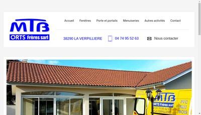 Site internet de MTB Orts