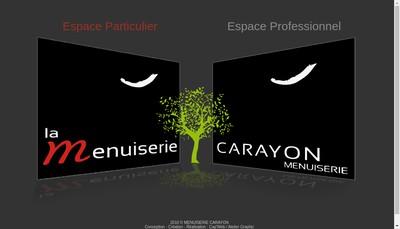 Site internet de Carayon et Fils