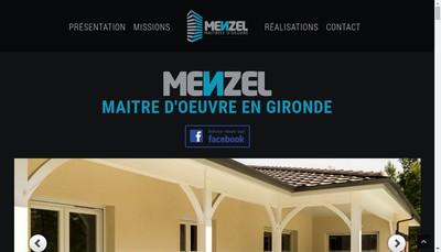 Site internet de SARL Menzel