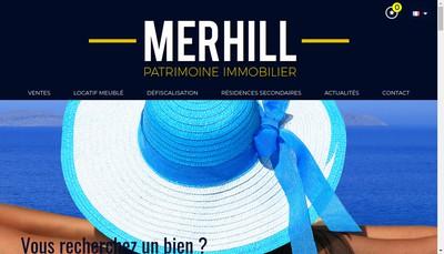 Site internet de Merhill