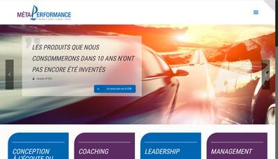 Site internet de Meta Performance