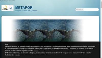 Site internet de Metafor