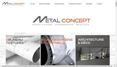 Site internet de Metalconcept