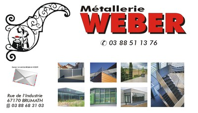 Site internet de Metallerie Weber SARL