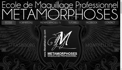 Site internet de Metamorphoses
