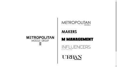 Site internet de Metropolitan Models