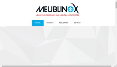 Site internet de Meublinox