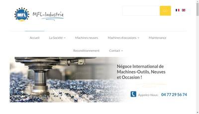 Site internet de Mfl Industrie