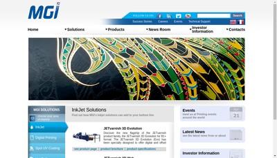 Site internet de Digital Master Carte