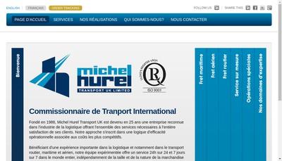 Site internet de Mht Forwarding