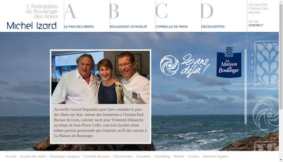 Site internet de Izard Conseils