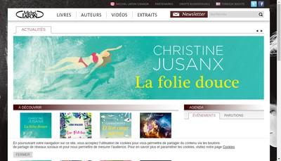 Site internet de Michel Lafon Education
