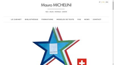 Site internet de Mauro Michelini