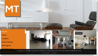 Site internet de Rouch Immobilier