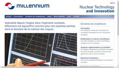 Site internet de Millennium