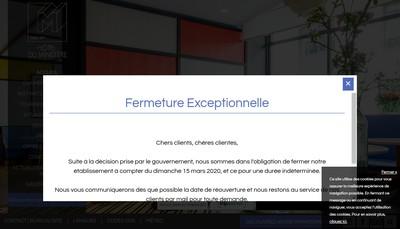 Site internet de Hotel du Ministere
