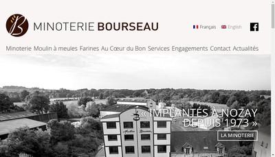Site internet de Minoterie Bourseau
