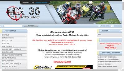 Site internet de Mir 35