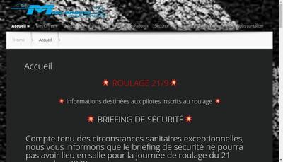 Site internet de Mirande Track Events