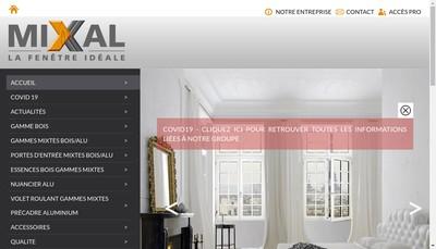 Site internet de Fenetres Mixal