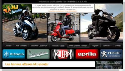 Site internet de Mj Scooter
