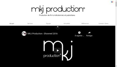 Site internet de Mkj Production