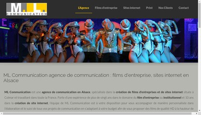 Site internet de Ml Communication Ml Distribution