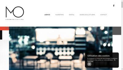 Site internet de Mo Communication