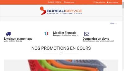 Site internet de Bureau Service