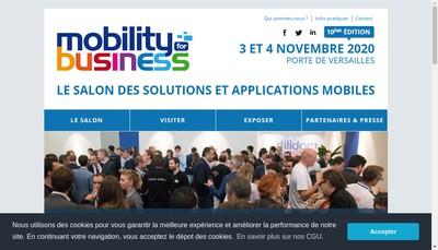 Site internet de Mobility For Business