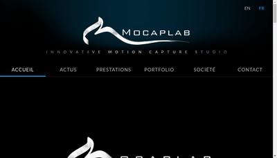 Site internet de Mocaplab