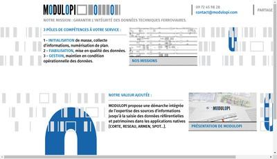 Site internet de Modulopi