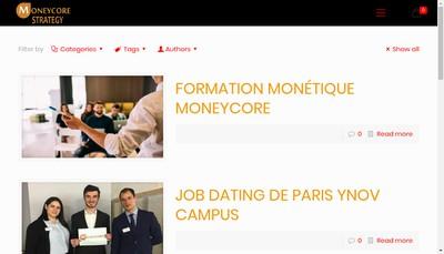 Site internet de Moneycore