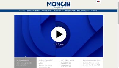 Site internet de Mongin