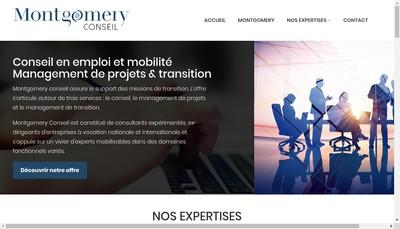 Site internet de Montgomery Conseil SAS