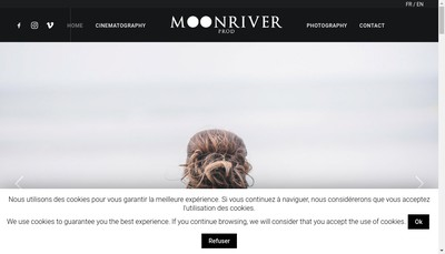 Site internet de Moonriverprod