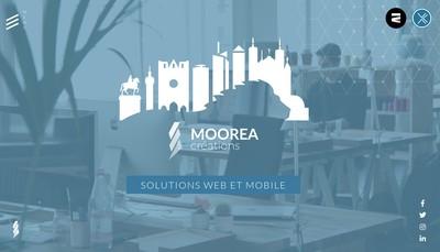 Site internet de Moorea Creations