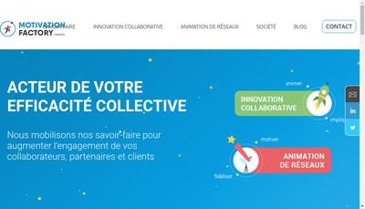 Site internet de Motivation Factory France