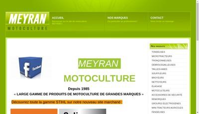 Site internet de Garage Michel Meyran